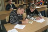 """Pupils from 7th grade are writing: """"To stay in Akniste is more important, because..."""""""