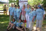"""Projekta komanda Himnas Goda dienā Viļkenē piedāvāja interesentiem izzināt dažādus vides jautājumus darbnīcās """"Pie Satelīta"""""""