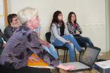 Skolotāja Inese stāsta par savu paveikto projekta laikā
