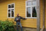 Jānis Pūcītis iepazīstina, kā videi draudzīgi  iekārtot māju