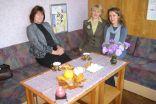 Ingrīda Vaisjune, Loreta Orinska un Ilze Saleniece