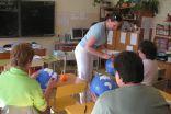 Pojekta pieredzē ar sākumskolas metodiskās apvienības dalībniekiem dalās Dita Grigore