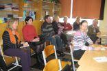 Atklāto stundu vērot ieradušies kolēģi no Pāles pamatskolas, Umurgas pamatskolas un Limbažu 3.vidusskolas